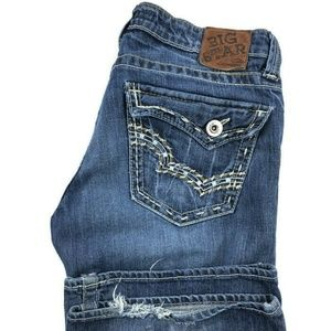 Big Star Sweet Bootcut Ultra Low Rise Jeans